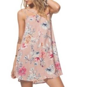 RIP CURL Wildflower Floral Strappy Slipdress Large